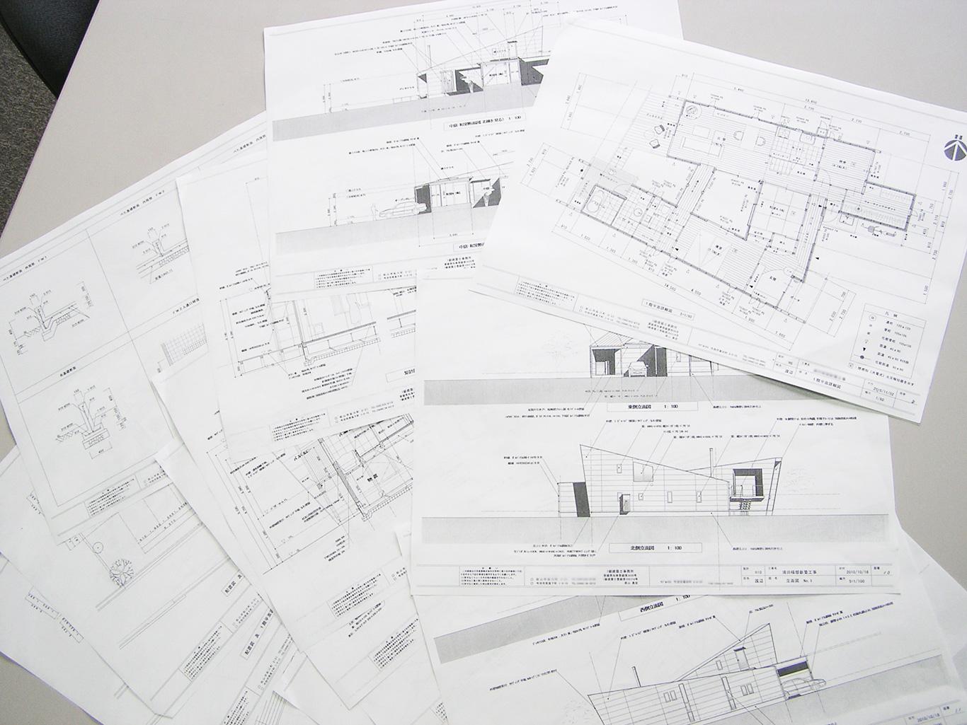 建築家からプラン、完成イメージ模型のご提案